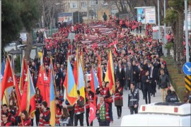ATATÜRK'ÜN BALIKESİR'E GELİŞİNİN 96'NCI YILI KUTLANDI
