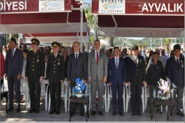 AYVALIK'IN GURURU 'İLK KURŞUN'